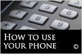 How to use your phone